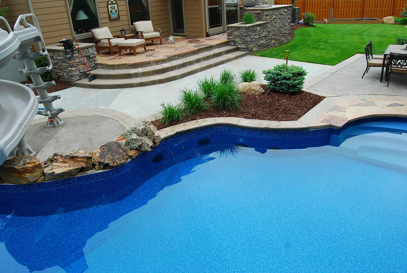 Testimonials from poolscapes customers for Pool design omaha